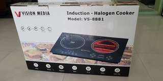 Induction Halogen Cooker electric hob