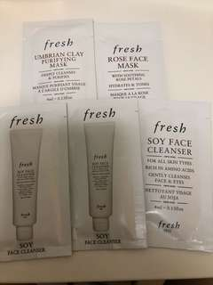 Fresh umbrian Clay mask Rose face Mask soy face cleanser