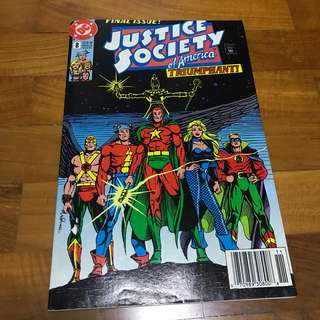 🚚 DC: Justice Society of America Comic # 8