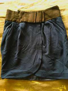Mango Suit office skirt
