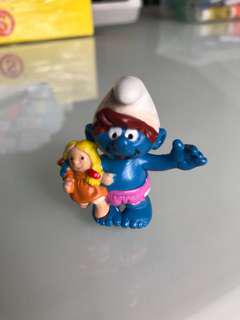 Child Smurf with Doll