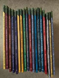 Magic tree house series (book 8 to 25)