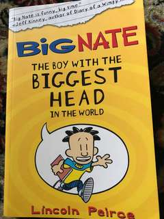Big Nate - Boy with the Biggest Head in the World