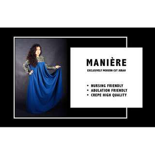 🚚 MANIÈRE EXCLUSIVELY Modern Cut JUBAH (New Green)