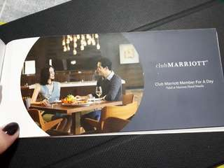 30% OFF in Marriott Hotel F&B