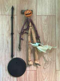 Nightmare Before Christmas Pumpkin King Jack Skellington and Zero