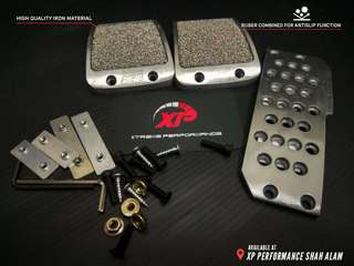 MUGEN Manual Racing Pedal Kit for All Honda Cars