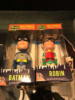 Collectible Batman and Robin