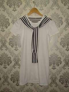 Sailor-inspired dress