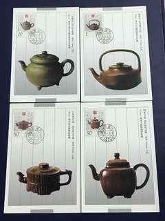 China Stamp- 1994-5 postcard