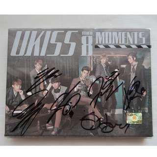 U-KISS Albums (Moments EP + Stop Girl)