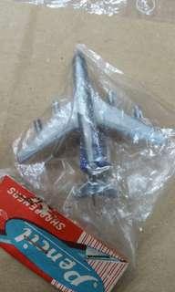 60年代,飛機造形鉛筆刨,原裝包裝