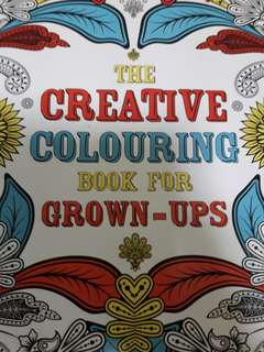 The Creative Coloring Book for Grown-ups