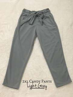 Plus size candy pants