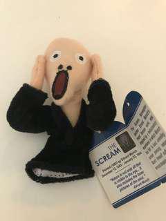 Scream puppet