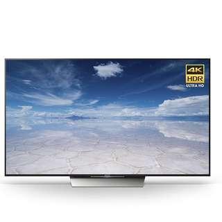 Sony 55-Inch 4K Smart LED TV XBR55X850D (Demo Set)