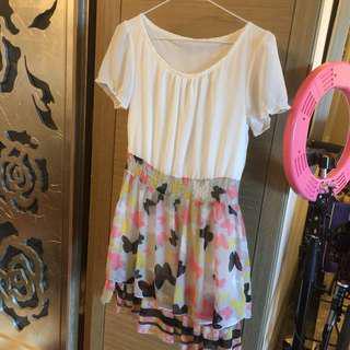 特賣❤️雪紡蝴蝶結洋裝