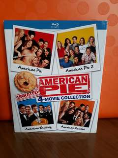 USA Blu Ray Slipcase - American Pie Collection