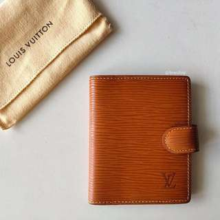 Authentic Louis Vuitton Epi Leather Card Holder LV
