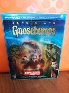USA Blu Ray Slipcase - Goosebumps 3D