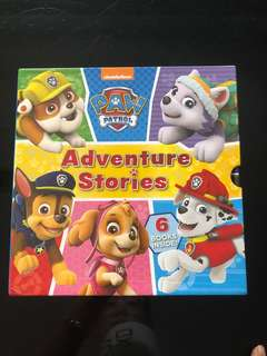 Paw patrol book set