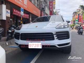 Double b 保時捷 Porsche Cayenne 凱宴 前+後下護板 不鏽鋼材質ㄧ體成型拉絲表面 密合度超優