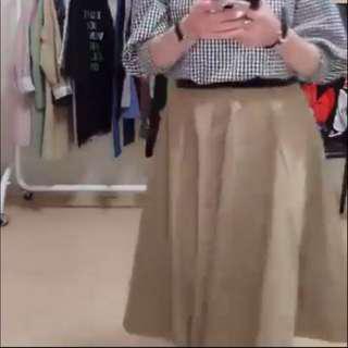 韓國連線 黑色圓裙