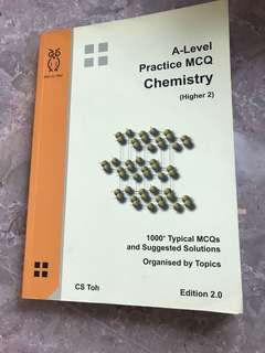 A level Practice MCQ Chemistry higher 2