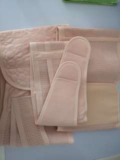 Postnatal waist and belly wrapper