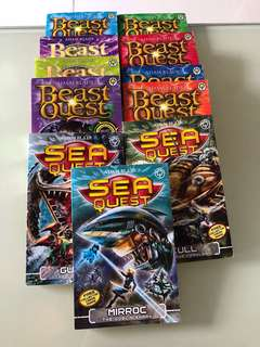 🚚 Beast Quest / Sea Quest