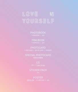 (PO) BTS Love Yourself ANSWER (S / E / L / F) Ver