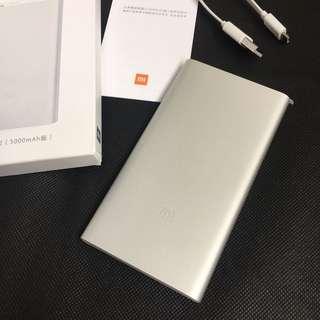 🚚 [全新intel限定款] 小米超薄行動電源2 5000mAh版(銀色)沒用過膜也未撕