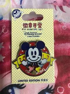 迪士尼樂園徽章襟章Disney Pin Disneyland (包平郵)LE2000
