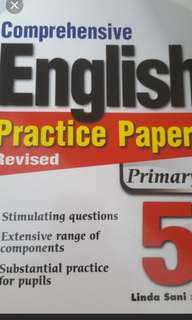 Brand New Primary 5 English Assessment