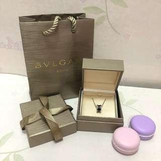 Authentic Bvlgari save the children necklace