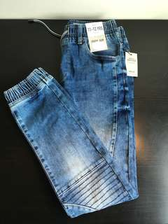[readystock] Primark boys Jogger Jeans - Regular Rise