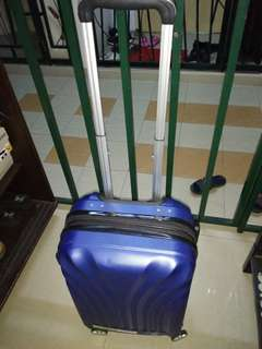 "Blue colour 22""inch cabin carry travel luggage bag"