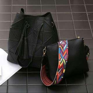 bucket bag 2 in 1