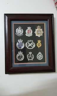 97前紀律部隊帽章章架
