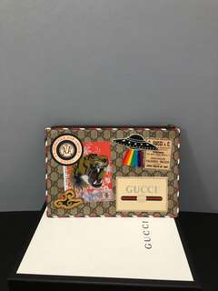 Gucci Tigerhead Clutch