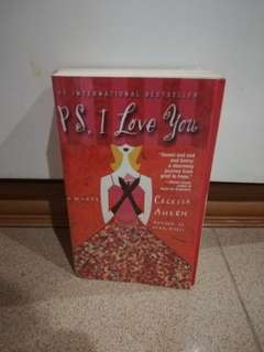 PS I Love You by Cecilia Ahern preloved book