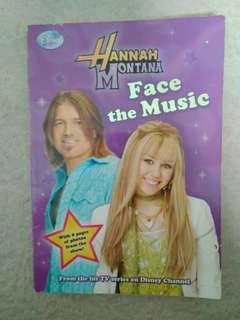 Hannah montana face the music