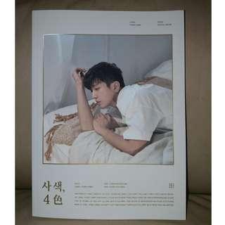 韓版 CNBLUE 鄭容和 4色寫真集連海報
