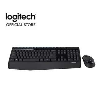 Logitech MK345 Wireless Combo Keyboard + Mouse (920-006491)