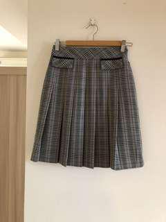 🚚 蘇格蘭百摺裙 #百貨專櫃 KIKI