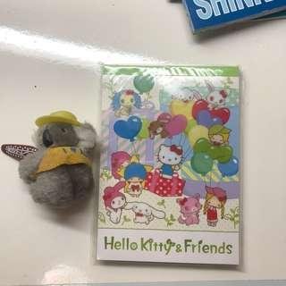全新正版 布甸狗 TOY STORY HELLO KITTY SANRIO MADE IN JAPAN