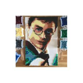 Harry Potter Hama Bead Design
