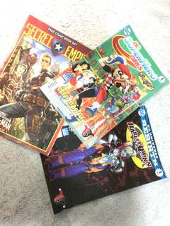 Assorted DC Comics