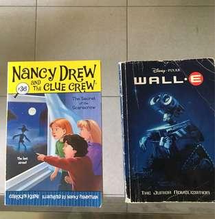 Nancy Drew, Wall E