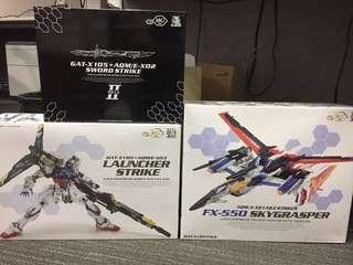 Dragon Momoko Unbuilt Perfect Strike Set (Launcher Strike/Sword Pack/Skygrasper+Aile Pack)